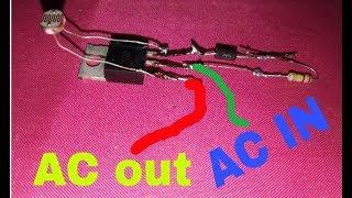 Make 220V Automatic ON/OFF Light Circuit | Ac 220 volt light Automatic ON/OFF |