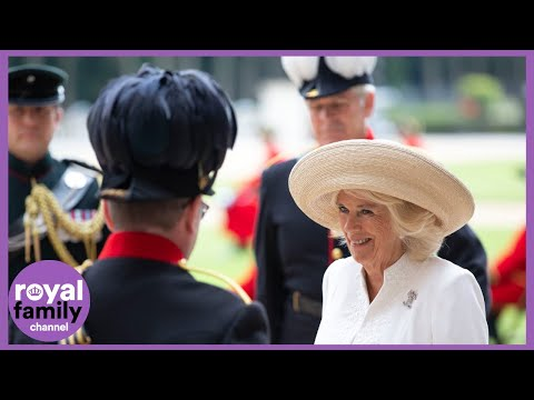 Duchess of Cornwall Visits Royal Hospital Chelsea