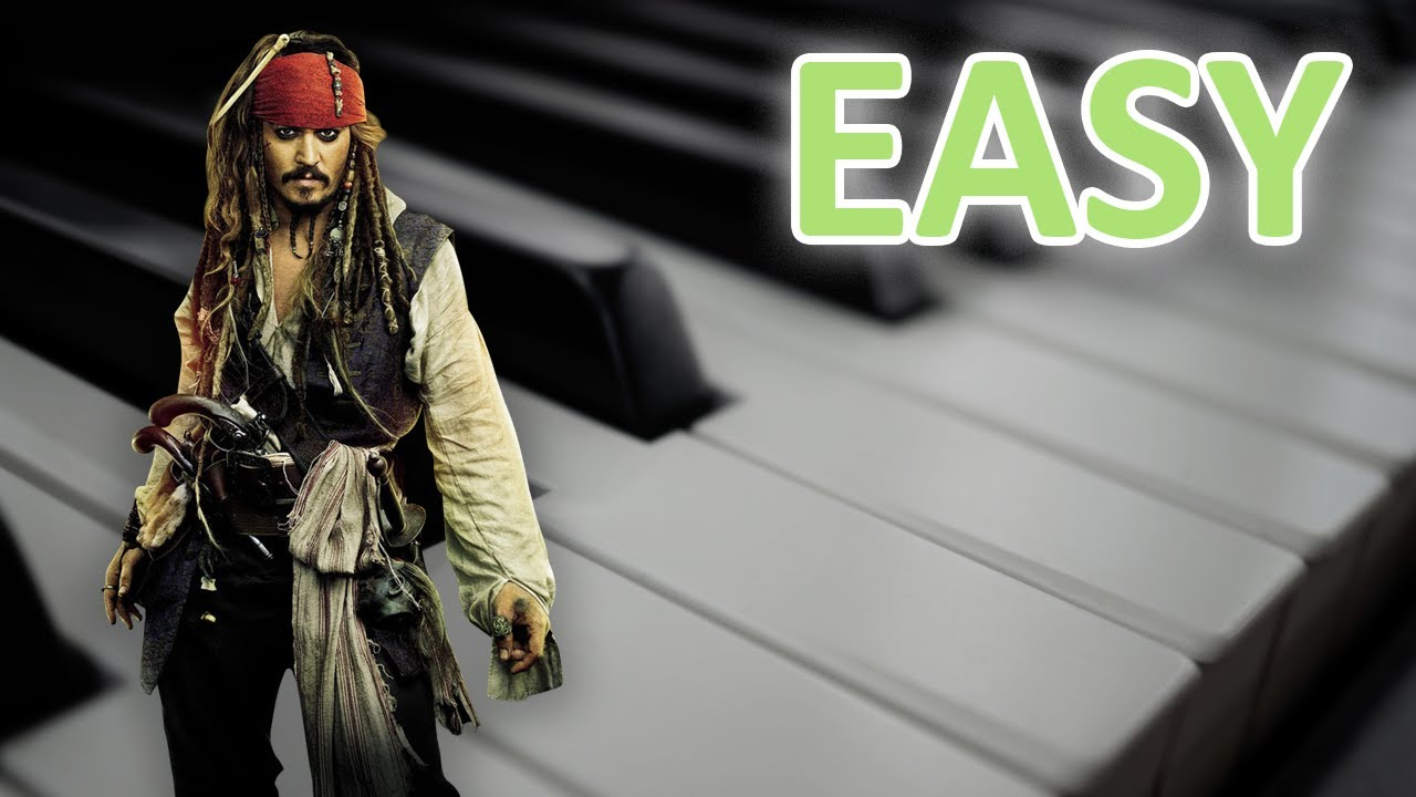 how to play pirates of the caribbean on piano easy