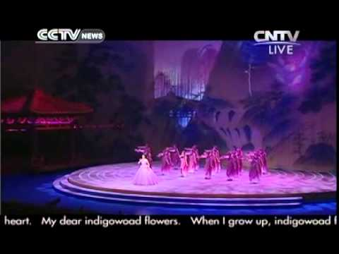 Cultural performance: Chinese Folk Song Solo-The Indigowood Flowers