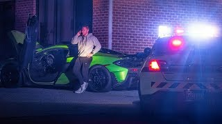 "COPS PULL ME OVER AT 130MPH IN MY NEW MCLAREN... (""Sir Step Out of Your Car"")"