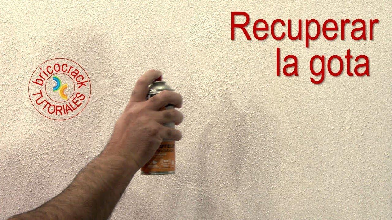 Reparar Gotelé O Estucado Con Spray Bricocrack Youtube