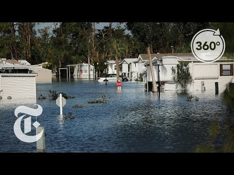 After Irma: Floods and Blackouts in Florida in 360