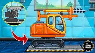 TRUCK GAMES FOR KIDS - PART 3 | BUILD A HOUSE ANDROID GAME | CAR WASH KIDS GAME | ELD ANDRO GAMING