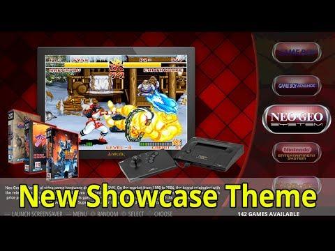 Showcase Theme For RetroPie Emulation Station
