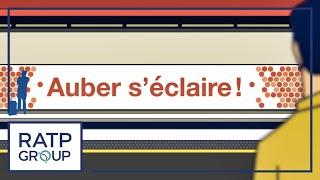 RER A  : rénovation de la gare d'Auber