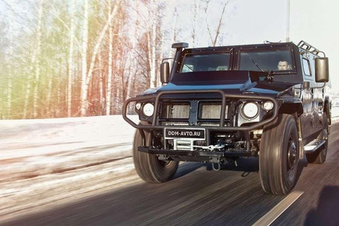Внедорожник ГАЗ Тигр армейский, как купить гражданскую версию .