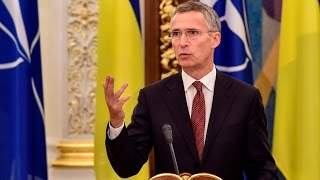 Виступ Генерального секретаря НАТО Є.Столтенберга за результатами засідання РНБО України
