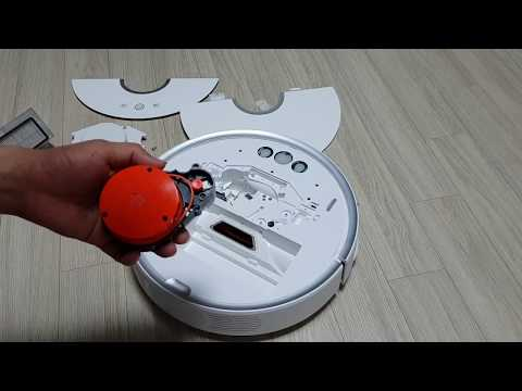 Xiaomi roborock robot vacuum cleaner 2 error1 code LDS sensor motor repair