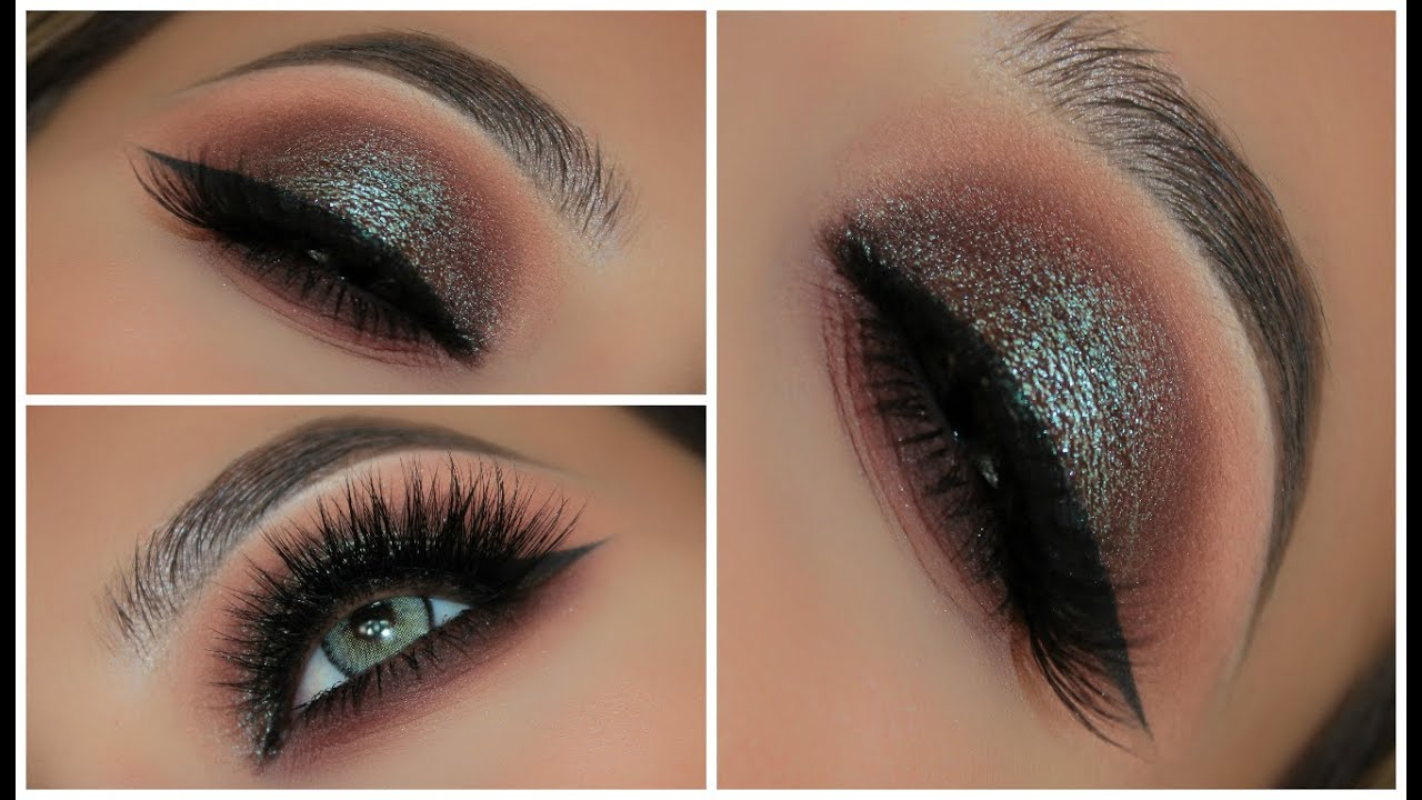 Two Toned Blue Brown Smokey Eye Amys Makeup Box Youtube