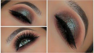 Two Toned Blue Brown Smokey Eye | Amys Makeup Box