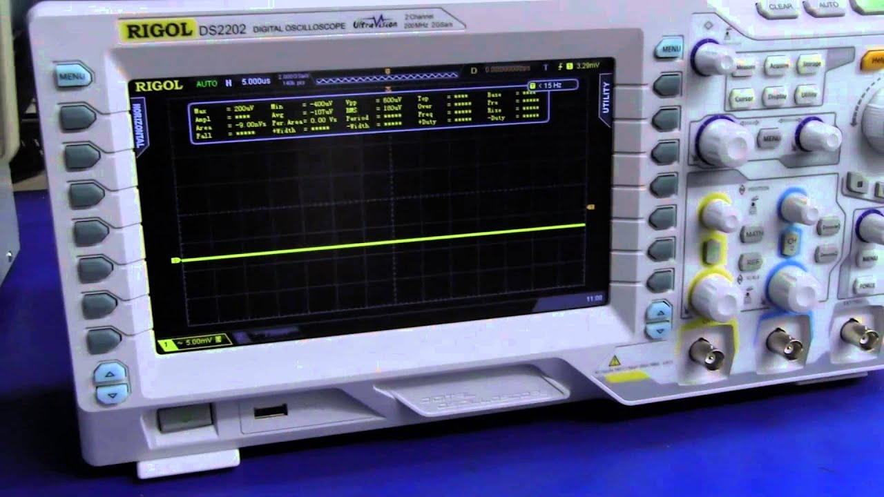 Digital Analog Oscilloscopes : Eev analog vs digital oscilloscope noise youtube