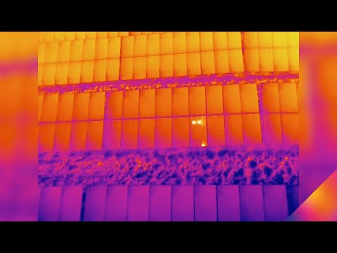 Inspecting Solar Panels with Thermal Drones | FLIR Delta - E
