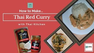 How to make Thai red curry with Thai kitchen | HomeMade Recipe | Just8Ate