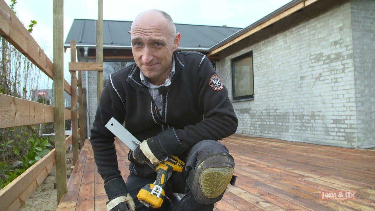 lærketræ brædder jem og fix