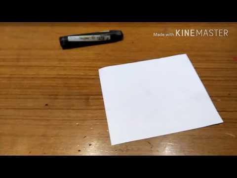 DIY Scratch off paper