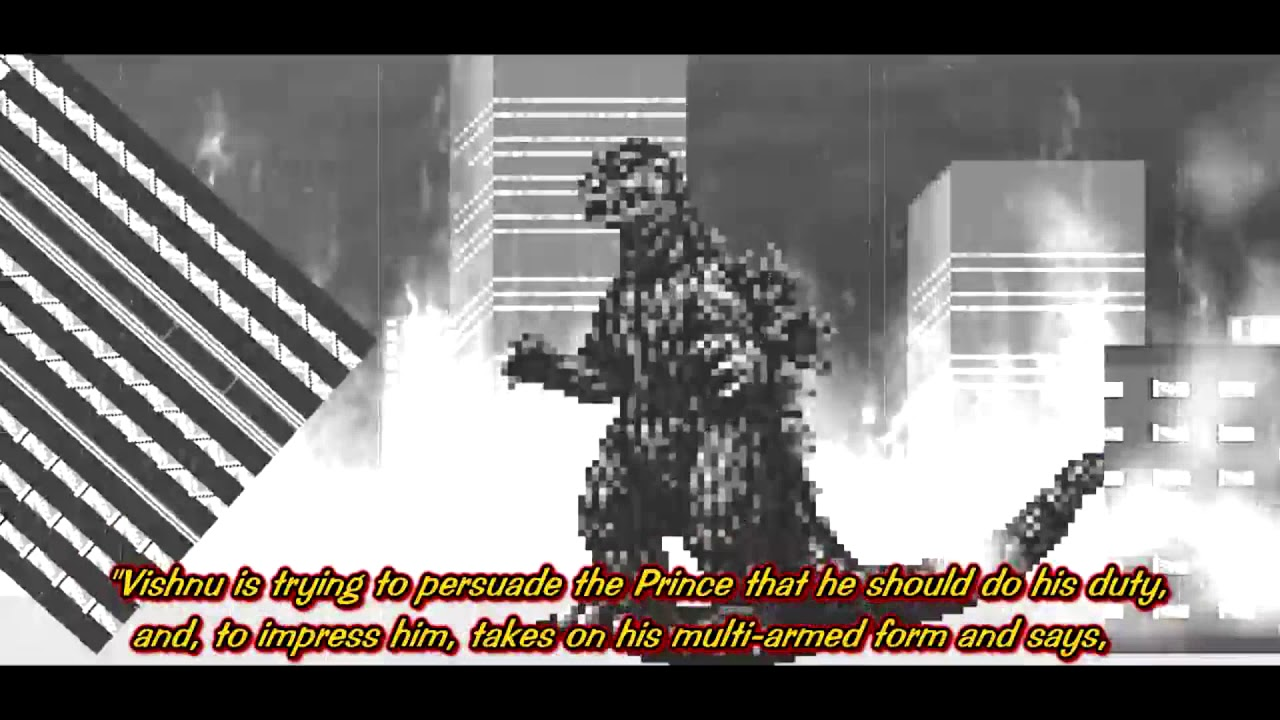 Oppenheimer Quote Godzilla Vs Koopzilla  Godzilla Footage With Robert Oppenheimer's