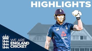 Brilliant Stokes & Roy Guide England to Series Win | England v Pakistan 4th ODI 2019 - Highlights