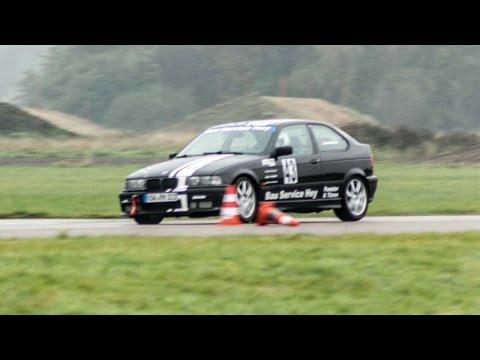 20. ADAC Hanseaten-Club-Slalom - Onboard - Alexander Brase - BMW E36 323ti