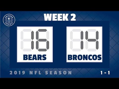 Postgame Show: Chicago Bears - Denver Broncos (Week 2)