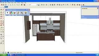 Create spreadsheet list of Cabinets in SketchUp model