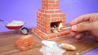 Faça Incríveis Mini Tijolos e construa uma Mini Lareira