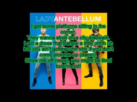 Downtown - Lady  Antebellum - Lyrics
