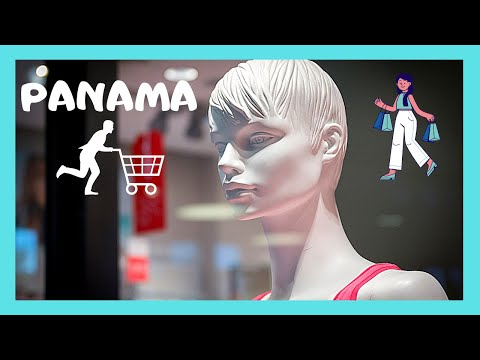 PANAMA: Luxurious MULTIPLAZA PACIFIC MALL with obnoxious loud music