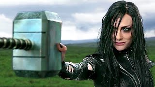 "THOR 3 ""Hela Destroys Mjölnir VS Thor"" Movie Scene ✩ Ragnarok Clip, Marvel (2017)"