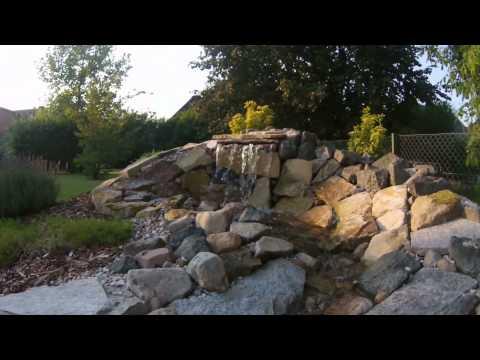 Gartenteich gebaut angelegt und selbst gestaltet mit u - Gartenbau peine ...