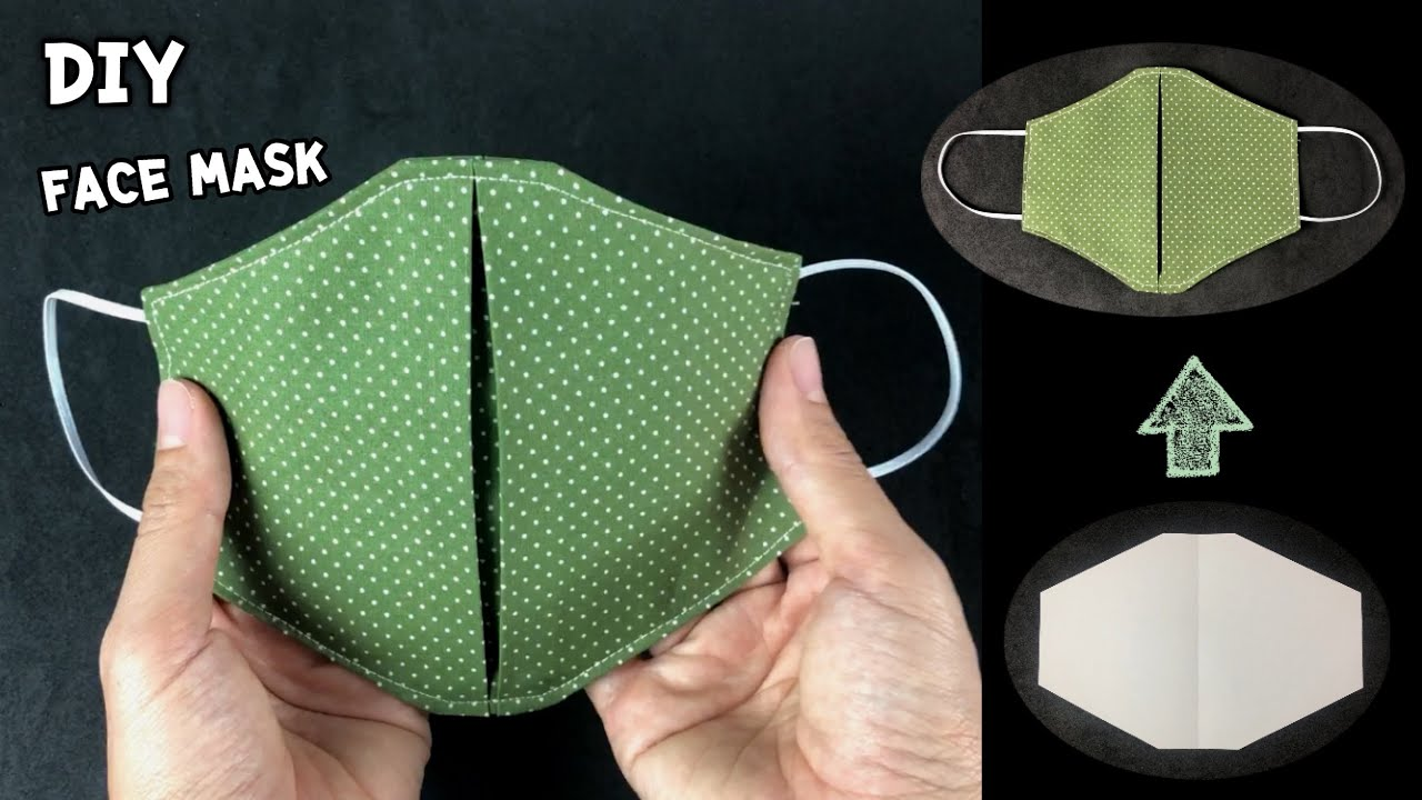 Simple DIY face mask | หน้ากากผ้าแบบง่ายๆ