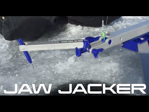 Home made 39 jaw jacker 39 doovi for Jaw jacker ice fishing