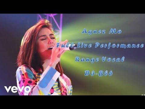 Agnez Mo Vocal Range - Live Performance || D3-Bb6 (3 octave 4 ...