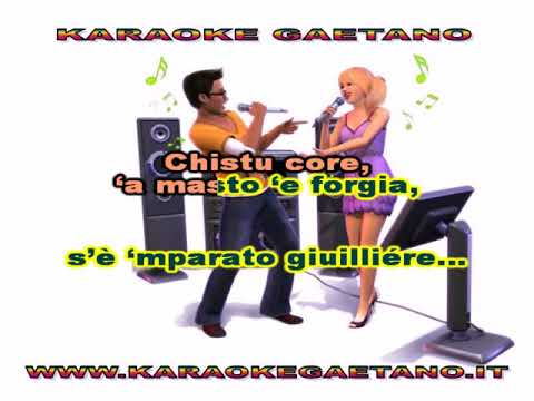 Melodie di Napoli L'arte do' sole karaoke