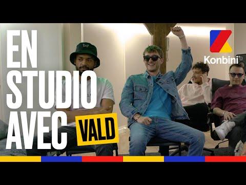 Youtube: En studio avec Vald, Seezy et Échelon Records l Exclus en écoute l Konbini