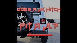 2018 Jeep JL Unlimited Rubicon Trailer Hitch Installation From JK