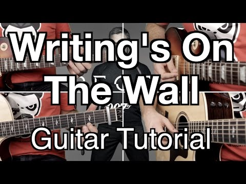 ► Writing's On The Wall ★ GUITAR LESSON ★ Sam Smith (FREE TAB)