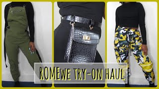 ROMWE TRY-ON HAUL SPRING 2019 | FASHNJUNKIE