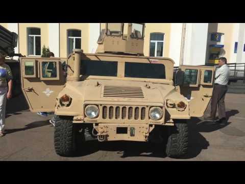 Житомир день города 2016 Військова техніка України 95 аеромобільна бригада