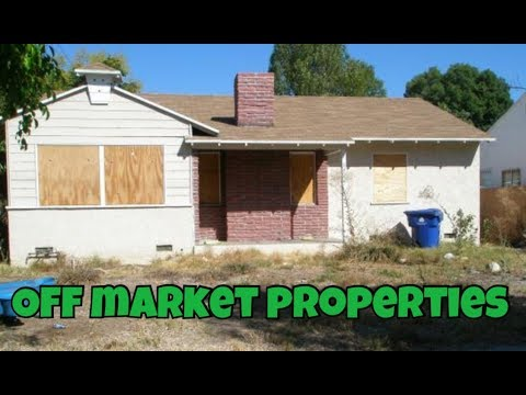 How to find Distressed & Off market properties FAST