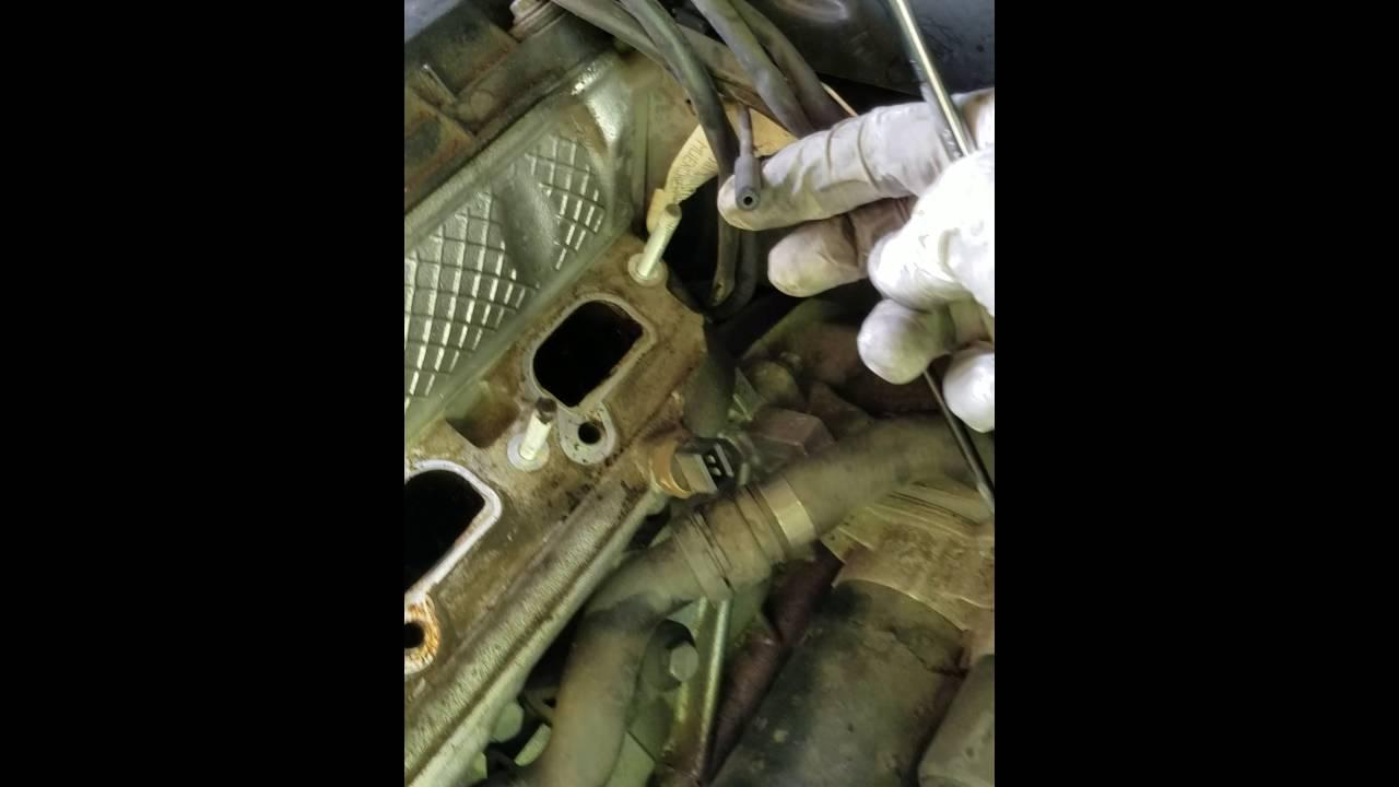 E46 starter removal