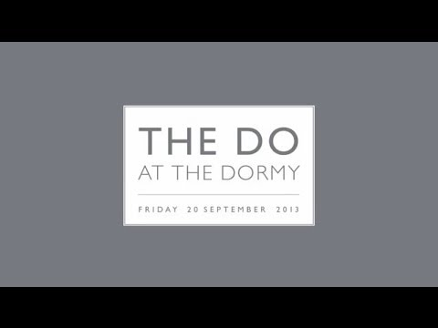 Dormy House Launch Party