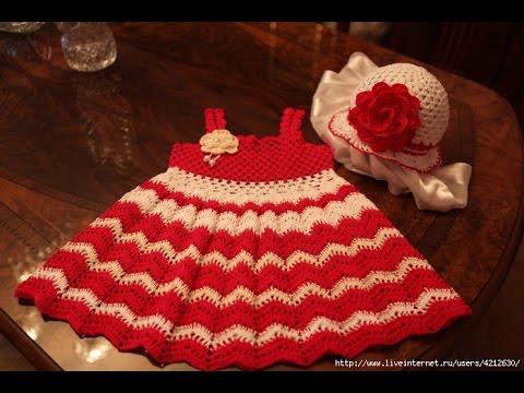 Crochet Patterns For Easy Crochet Baby Dress For Beginners 1043