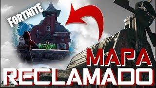 ¡MAPA DE RECLAMADO EN FORTNITE! - GEARS OF WAR 4 Y FORTNITE