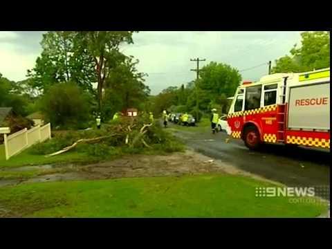 Thunderstorms put dampener on Sydney Christmas weather