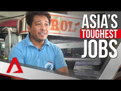 Asia's toughest jobs: The life of a smiling jeepney driver