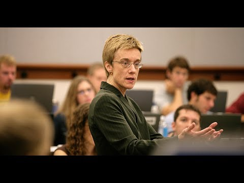 Inside the Classroom, with Professor Anne Coughlin