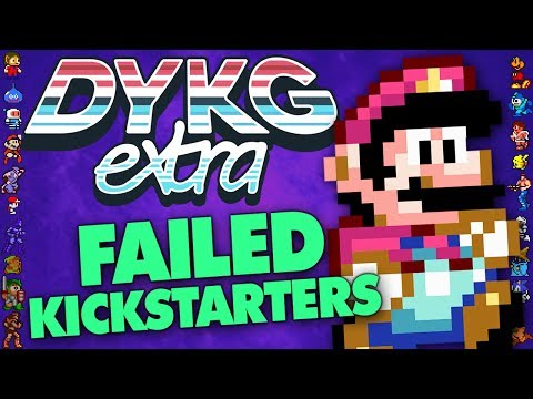 Failed Gaming Kickstarters - Did You Know Gaming? extra Feat. Slope's Game Room