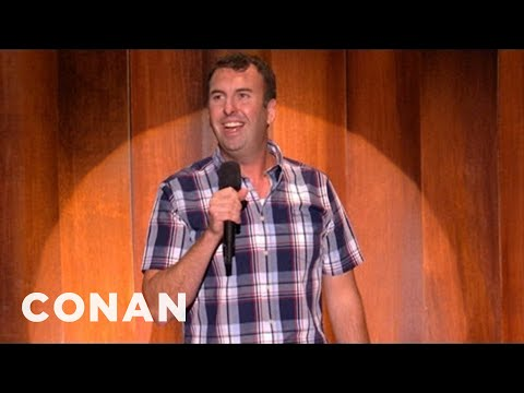 "After-Hours Stand-Up: Matt Braunger's Hangover Is Hungry For ""Cheese Babies"" - CONAN on TBS"
