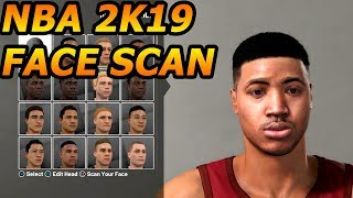 NBA 2k19 FACE SCAN